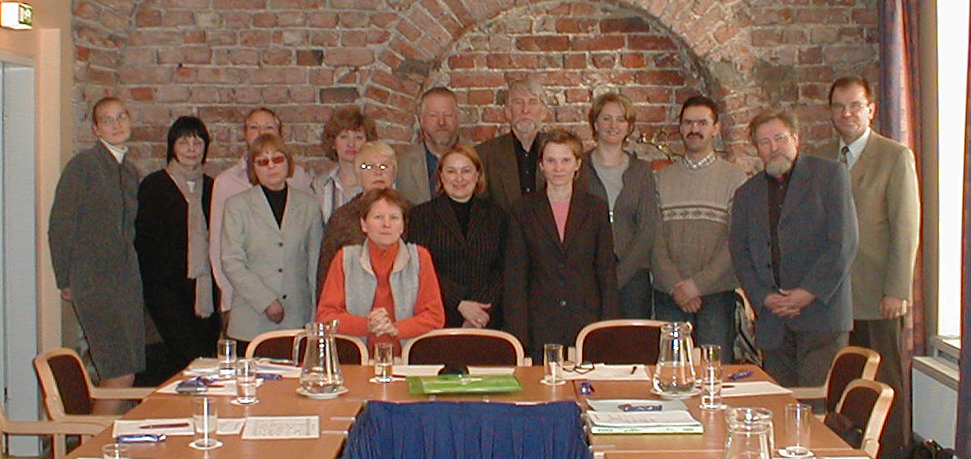 BAAC meeting members,  2005
